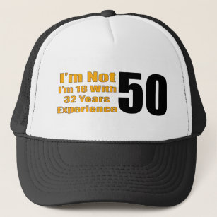 Funny 50th Birthday Hat