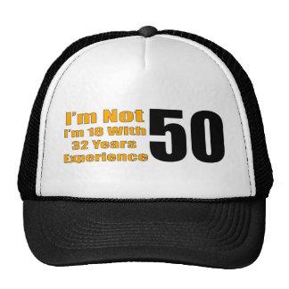50th Birthday Dad Hats