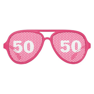 Funny 50th Birthday party shades | Age humor