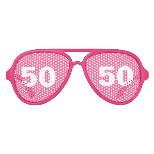 Funny 50th Birthday party shades | Age humour