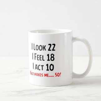 Funny 50th Unique Design Coffee Mug