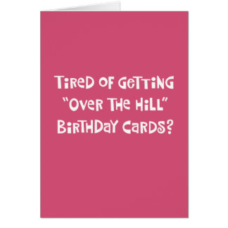Funny 55th Birthday Greeting Card