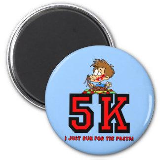 Funny 5K running Refrigerator Magnets