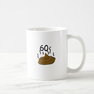 """Funny, """"60 stinks"""" 60th Birthday design Basic White Mug"""