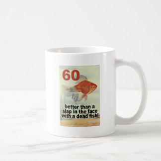 Funny 60th Birthday Basic White Mug