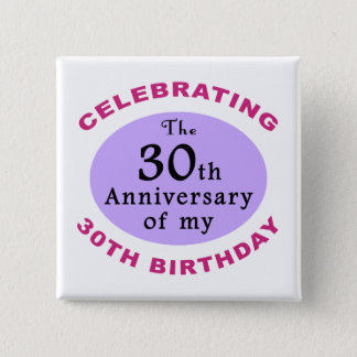 Funny 60th Birthday Gag Gifts 15 Cm Square Badge