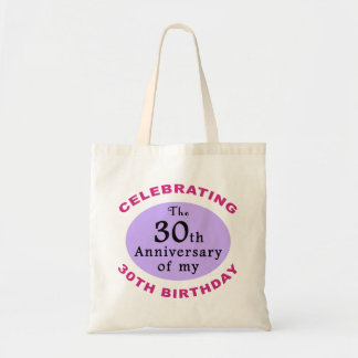 Funny 60th Birthday Gag Gifts Budget Tote Bag