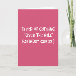 Funny 65th Birthday Card