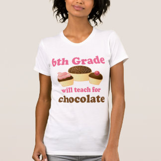 Funny 6th Grade Teacher Camisole Top Tshirt