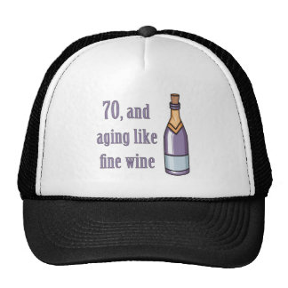 Funny 70th Birthday Gift Ideas Mesh Hat