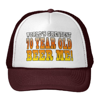 Funny 70th Birthdays : Worlds Greatest 70 Year Old Cap