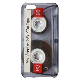 Funny 80 s Cassette Tape Personalized iPhone 5C Covers