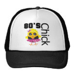 Funny 80s Chick Cap