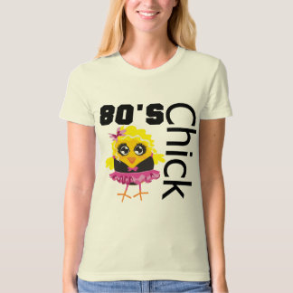 Funny 80s Chick T-Shirt