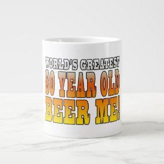 Funny 80th Birthdays : Worlds Greatest 80 Year Old 20 Oz Large Ceramic Coffee Mug