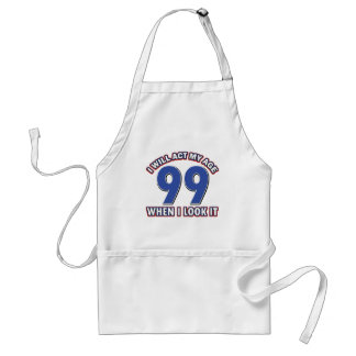 Funny 90 year old designs standard apron