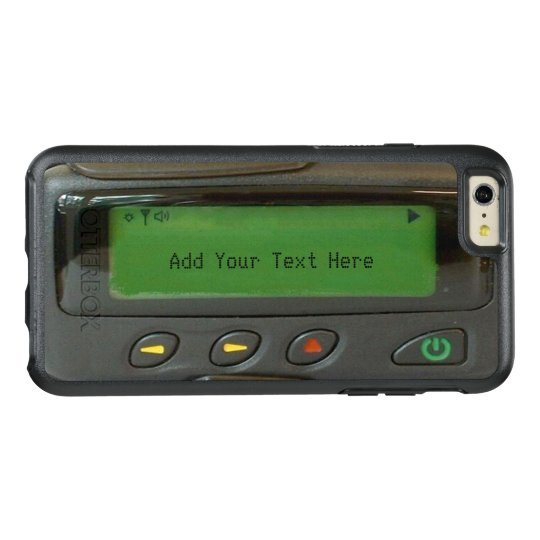 Funny 90s Old School Pager Impressive Look OtterBox