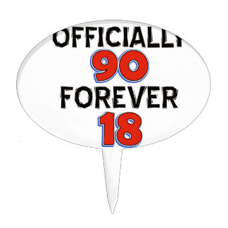 funny 90th birthday designs cake toppers