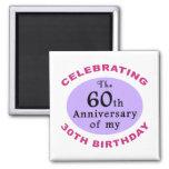 Funny 90th Birthday Gag Gifts Fridge Magnet