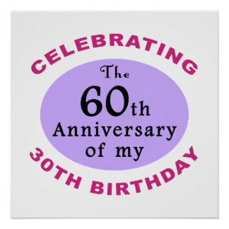 Funny 90th Birthday Gag Gifts Poster
