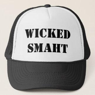 Funny Accent Yankee Wicked Smart Smaht Bostonian Cap