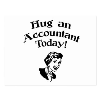 Funny Accountant Postcard