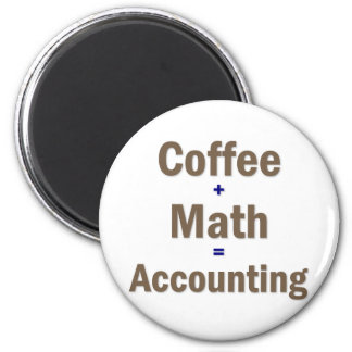 Funny Accounting Saying Magnet