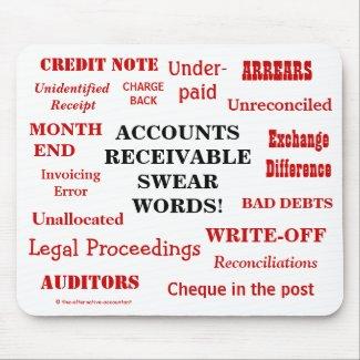 Funny Accounts Receivable Swear Words! AR Joke