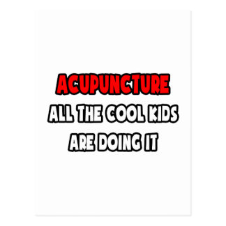 Funny Acupuncturist Shirts and Gifts Postcard
