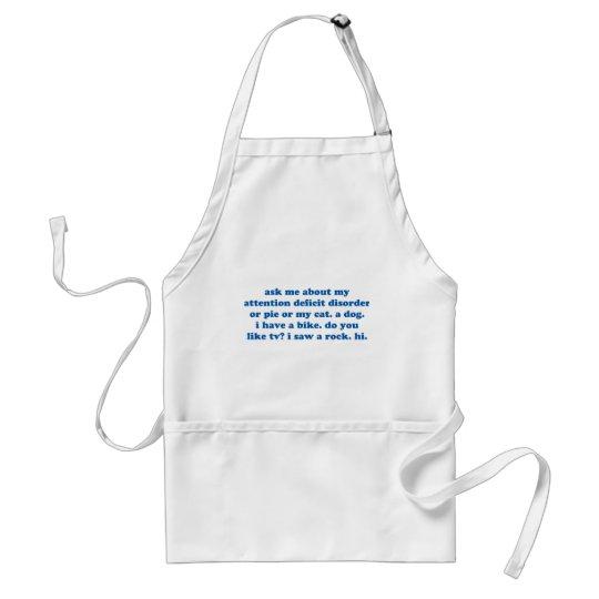 Funny ADD ADHD Quote - Blue Print Standard