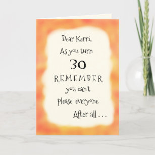 Funny Add Name Or Any Age Pizza Humor Greeting Card