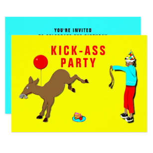Funny Adult Party Invitations Announcements Zazzle Uk