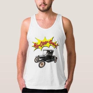 Funny Ah-Ooo-Gah Antique Car horn Comic Tank Top