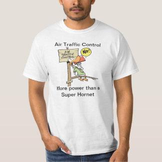 Funny Air Traffic Control Super Hornet Cartoon Tee Shirts