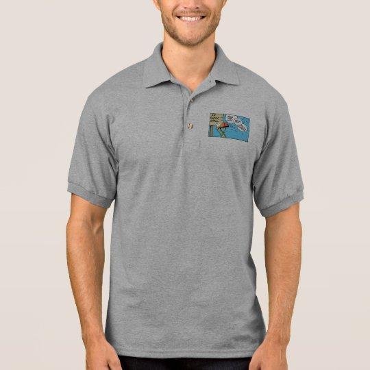 Funny Air Traffic Controller Polo Shirt