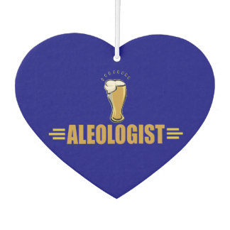 Funny Aleologist Beer Drinker's Car Air Freshener