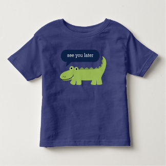 Funny Alligator Kids Toddler T-Shirt