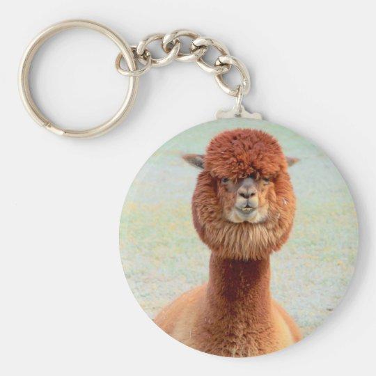 Funny Alpaca Keychain