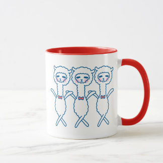 Funny alpaca mug