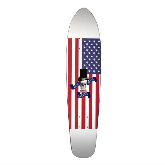 Funny American flag Skateboard