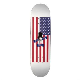 Funny American flag Skate Board