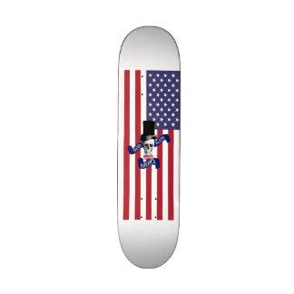 Funny American flag Custom Skate Board
