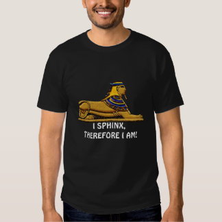Funny Ancient Egyptian Sphinx Joke Design T Shirt