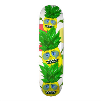 Funny and cool pineapple 18.1 cm old school skateboard deck