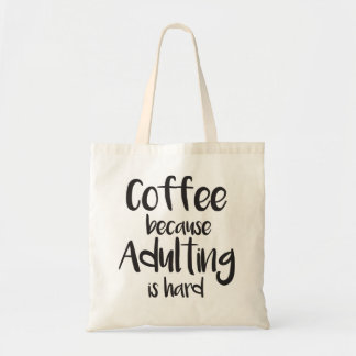 Funny and cute coffee bag