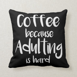 Funny and cute coffee Pillow