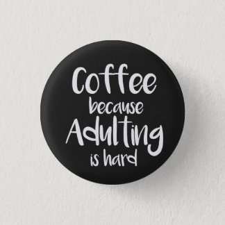 Funny and cute coffee pin
