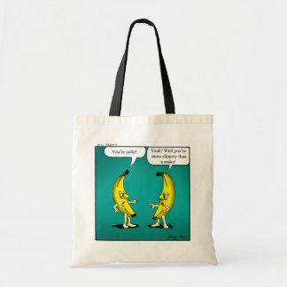 Funny Angry Bananas Tote Bag