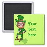 Funny Angry Lucky Irish Leprechaun