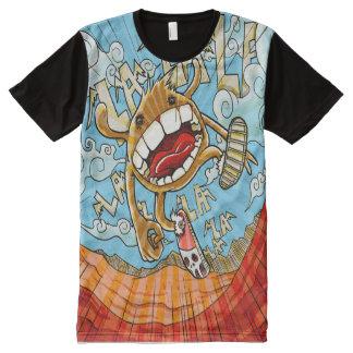 funny animal All-Over print T-Shirt